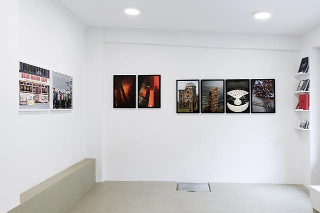 Izložba fotografija Bojana Radoviča. Postav izložbe.